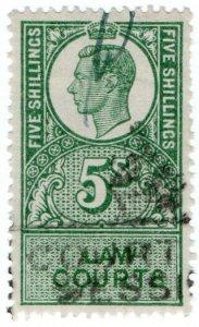 (I.B) George VI Revenue : Law Courts (Scotland) 5/-