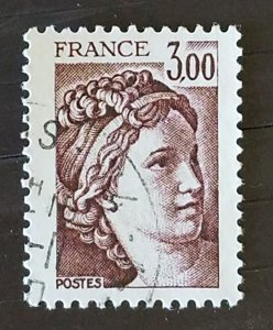 France #1577 Used