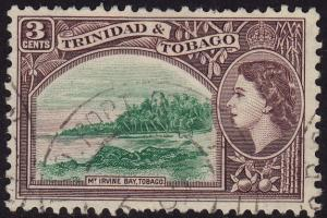 Trinidad & Tobago - 1953 - Scott #74 - used - Mt Irvine Bay
