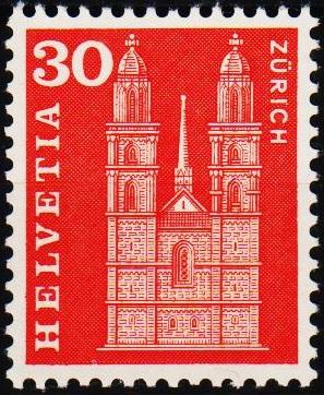 Switzerland.1960 30c S.G.619p Unmounted Mint