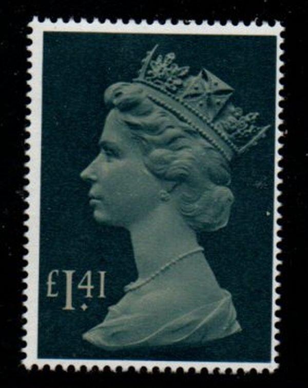 Great Britain Sc MH172 1985 £1.41 QE II Machin Head stamp mint NH