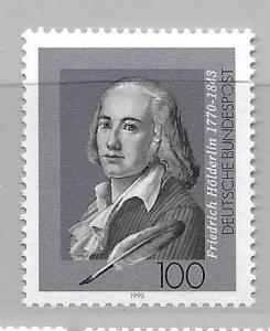 Germany 1791 Friedrich Holderlin single MNH
