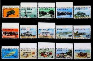 British Colony Anguilla 1969 INDEPENDENCE JANUARY 1969 MNH** Full Set 15427