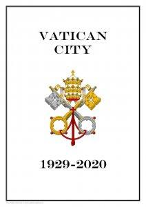 VATICAN CITY 1929 - 2020  PDF (DIGITAL) STAMP  ALBUM PAGES  (209 pages)