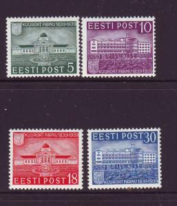 Estonia Sc 144-7 1938 Parnu Spa stamp set  mint