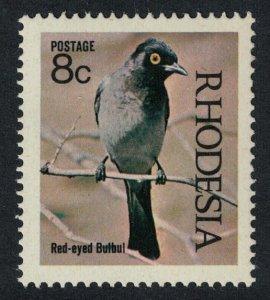 Rhodesia Red-eyed Bulbul Birds of Rhodesia SG#463