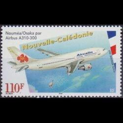 NEW CALEDONIA 2001 - Scott# C291 Air Service Set of 1 NH