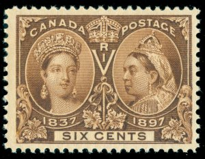 MOMEN: CANADA SC #57 JUBILEE MINT OG NH LOT #60622
