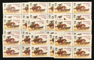 2754   Cherokee Strip Land Run   100 MNH  29¢ stamps  $29 face value  1993
