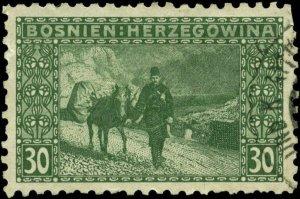Bosnia and Herzegovina Scott #38a Used  Perf 9 1/4