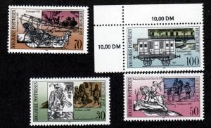 Germany DDR 2841-2844 Mint NH!