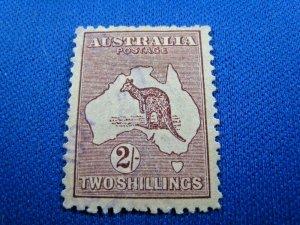 AUSTRALIA  1924 - SCOTT # 53   USED