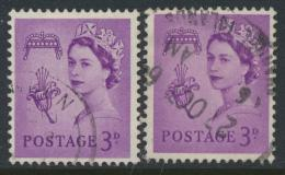 Guernsey Regional Issue SG 7 SC# 2 Used with purple violet shade see details