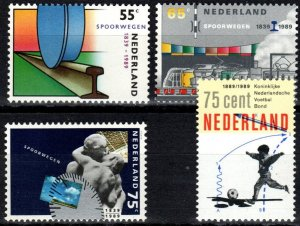 Netherlands #746-9 MNH CV $2.70  (P68)