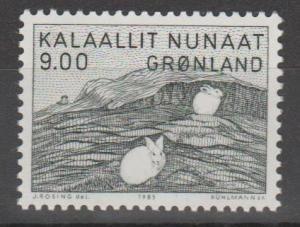 Greenland #118 F-VF Unused CV $4.00 (ST1991)
