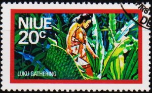 Niue. 1976 20c S.G.204 Fine Used