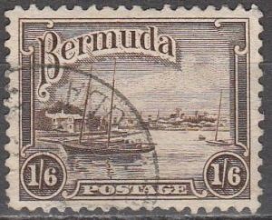 Bermuda #114 F-VF Used (S997)