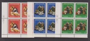 CANADA PLATE BLOCK MNH STAMPS #973-74-75. LOT#PB513