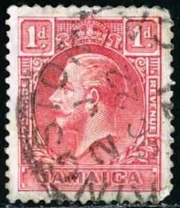 JAMAICA - SC #103 - USED - 1929- JAMA020NS3