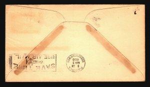 Canada 1930 FFC Medicine Hat to Regina - L2088