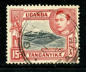 kenya Uganda Tanganyika # 72, Used. CV $ 3.75