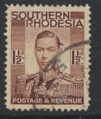 Southern Rhodesia  SG 42  Used