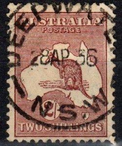 Australia #125 F-VF Used CV $2.75 (X7643)
