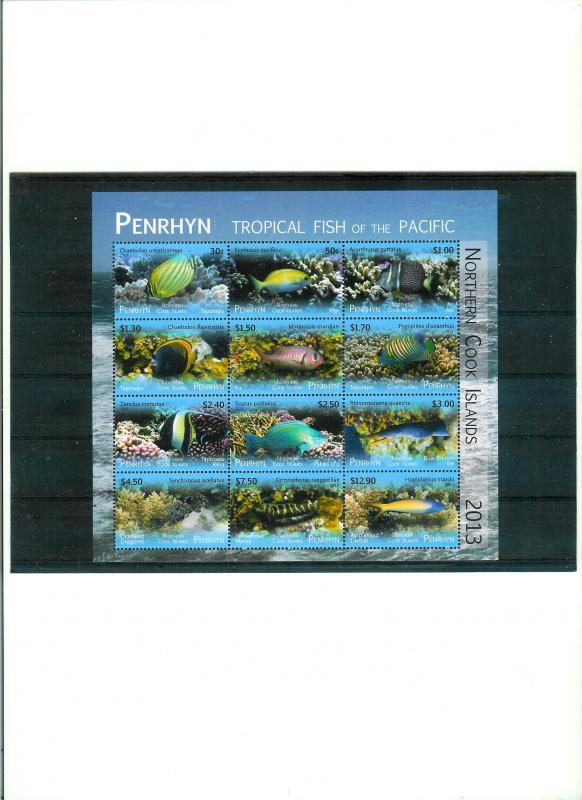 PENRHYN - TROPICAL FISH OF THE PACIFIC