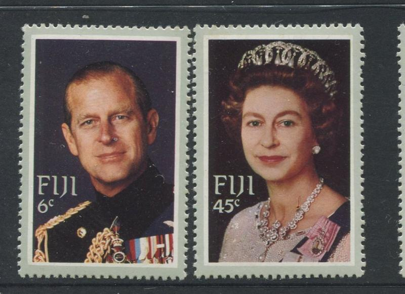 Fiji - Scott 474-375 - Royal Visit Issue 1982- MNH - Set of 2  Stamps