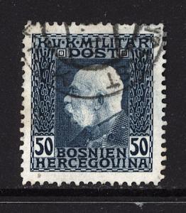Bosnia 1912 Scott #78 used
