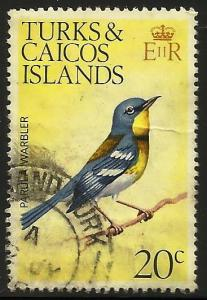Turks and Caicos Is 1973 Scott# 275 Used (small crease)
