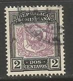 Dominican Republic 127 VFU ARMS 961F-2