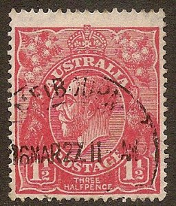 Australia Scott # 68c used. Free Shipping for All Additional Items