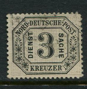 North German Confederation #O8 Used - Make Me An Offer