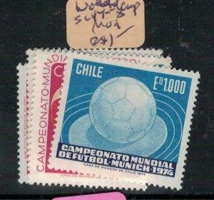 Chile World Cup Soccer Football SC 843-4 MOG (9exv)