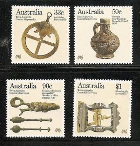 Australia 1985 coastal shipwrecks set  MNH  963-966