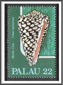Palau #105 Sea Shells MNH