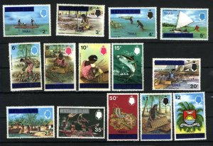 Tuvalu #2-15  Mint NH VF 1976 PD