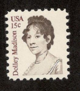 1822 Dolley Madison US Single Mint/nh (Free Shipping)