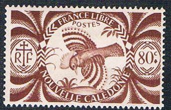 New Caledonia 257 MLH Kagu (BP462)