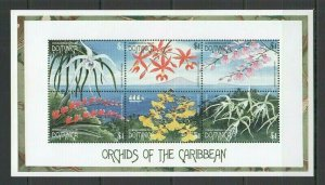QF2336 DOMINICA FLORA NATURE FLOWERS ORCHIDS OF THE CARIBBEAN 1KB FIX