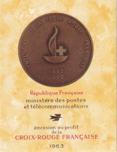 France #B374a Red Cross Booklet  CV $9.00 Z43