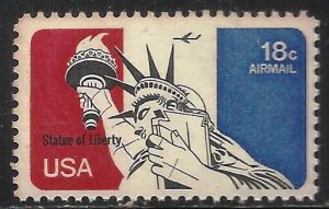 United States Air Mail 1974 Scott# C87 MNH