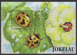 TOKELAU ISLANDS SGMS282 1998 BEETLES FINE USED