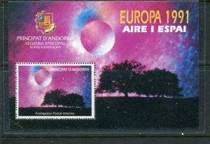Andorra Unlisted 1991 Europa S/S Mint
