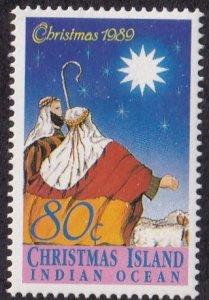 Christmas Island #244 Mint