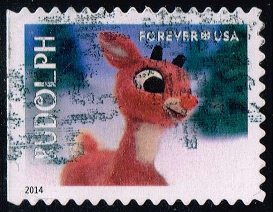 US #4946 Rudolph the Red-Nosed Reindeer; Used (0.30)