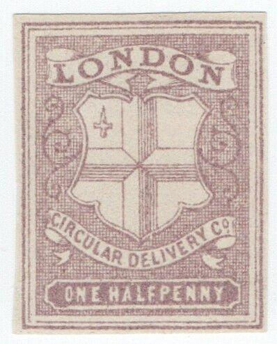 (I.B) Cinderella Collection : Circular Delivery Company (London ½d)