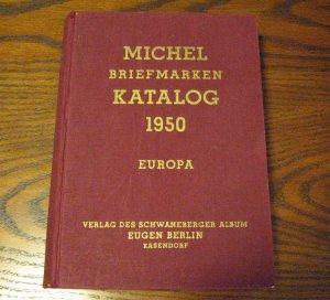 1950 Michel Briefmarken Katalog - Europa