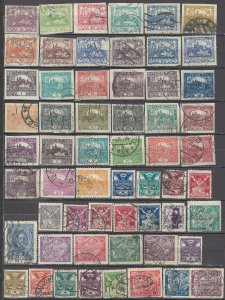COLLECTION LOT OF # 1630 CZECHOSLOVAKIA 243 STAMPS 1918+ 5 SCAN CLEARANCE